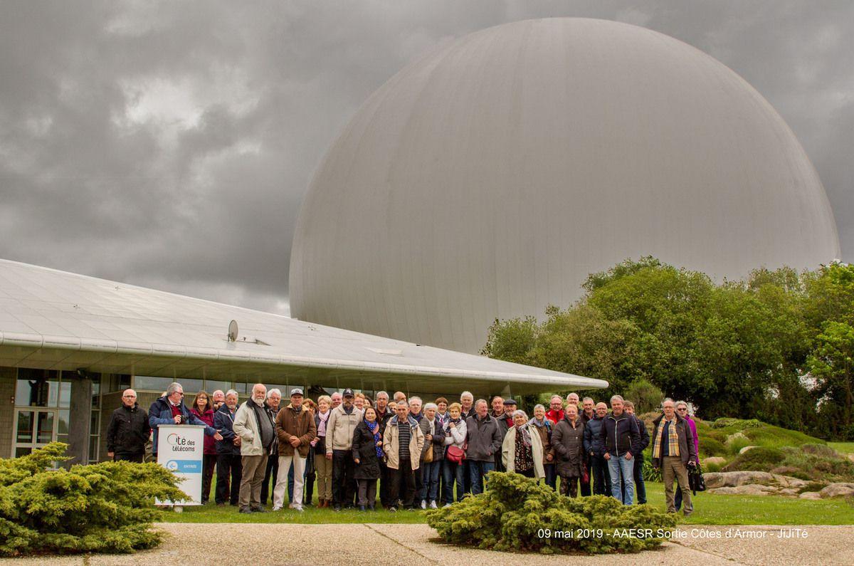 9 MAI 2019 - DÉCOUVERTE DE LA CITÉ DES TELECOMS ET VISITE DE LA CÔTE DE GRANIT ROSE