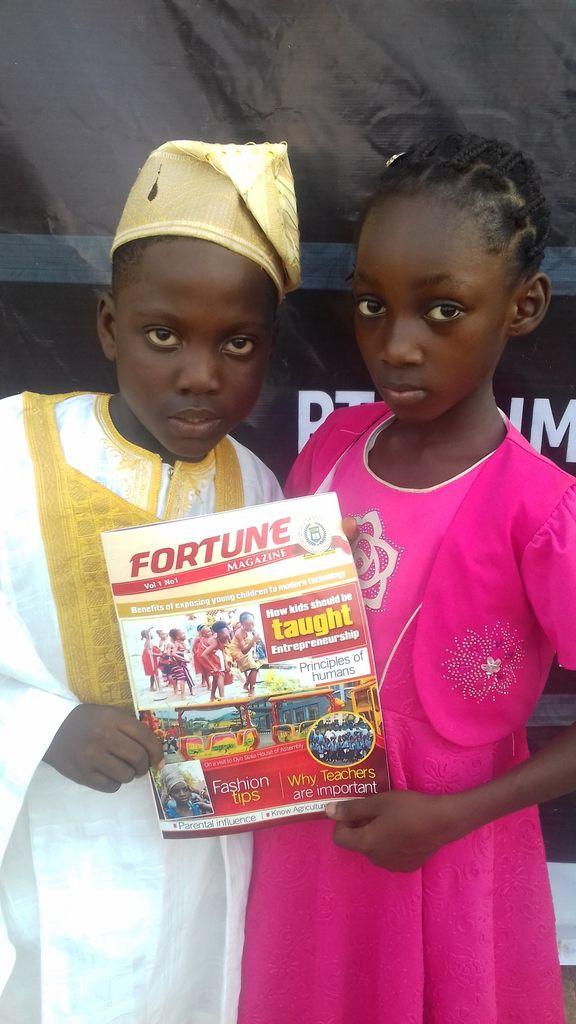 Launching of the School magazine