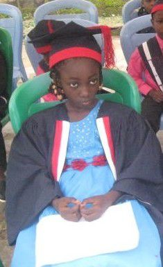 During her Graduation