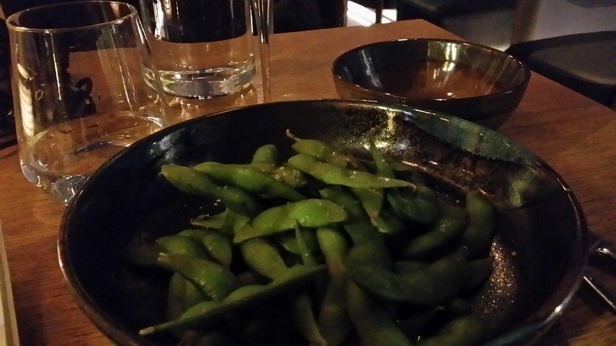 Edamame ao izakaya restaurant Paris 9