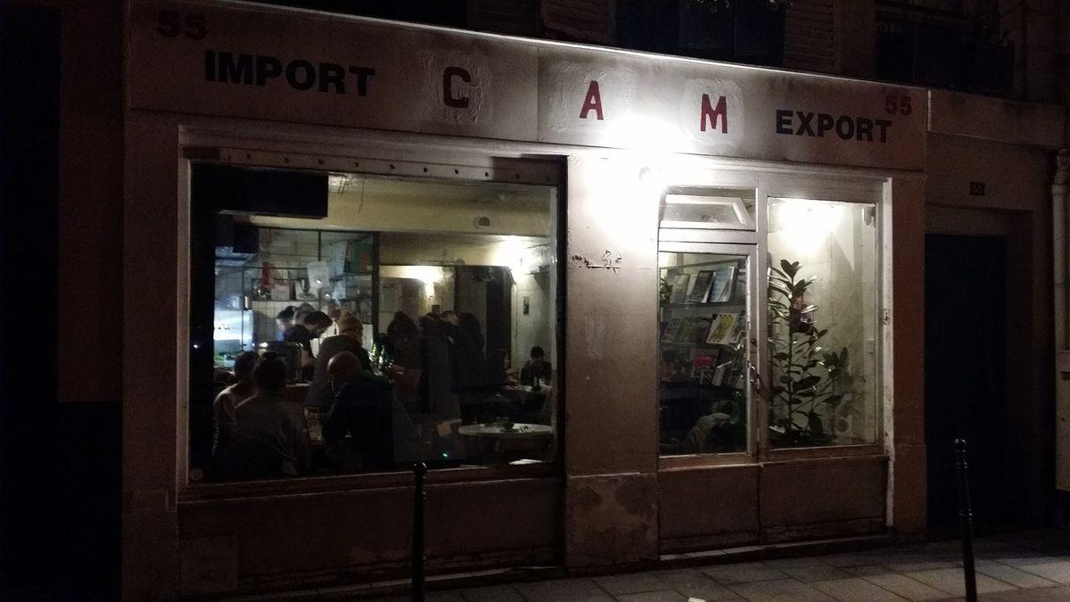 Façade CAM restaurant Paris 3