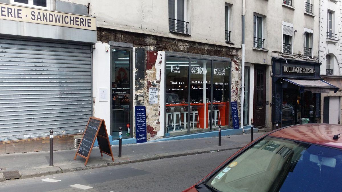 La Reine Mer Restaurant Paris11