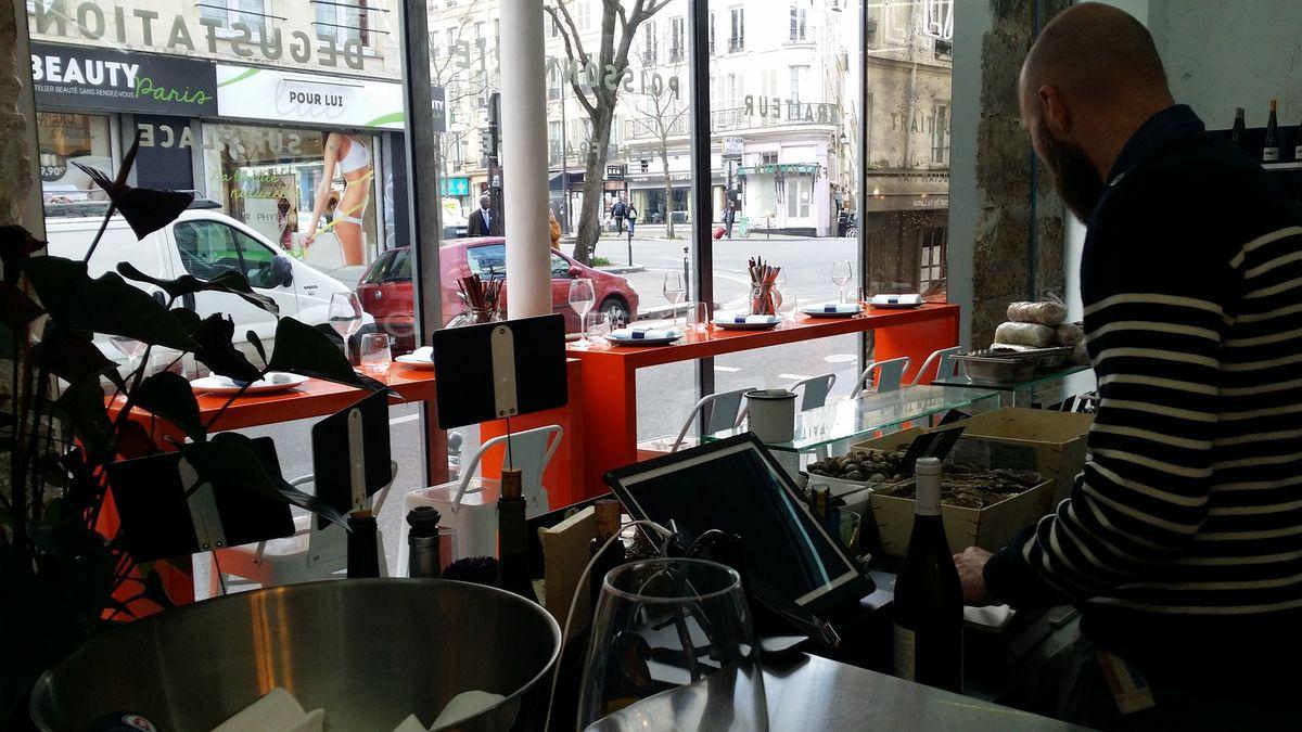 La Reine mer Restaurant Paris 11