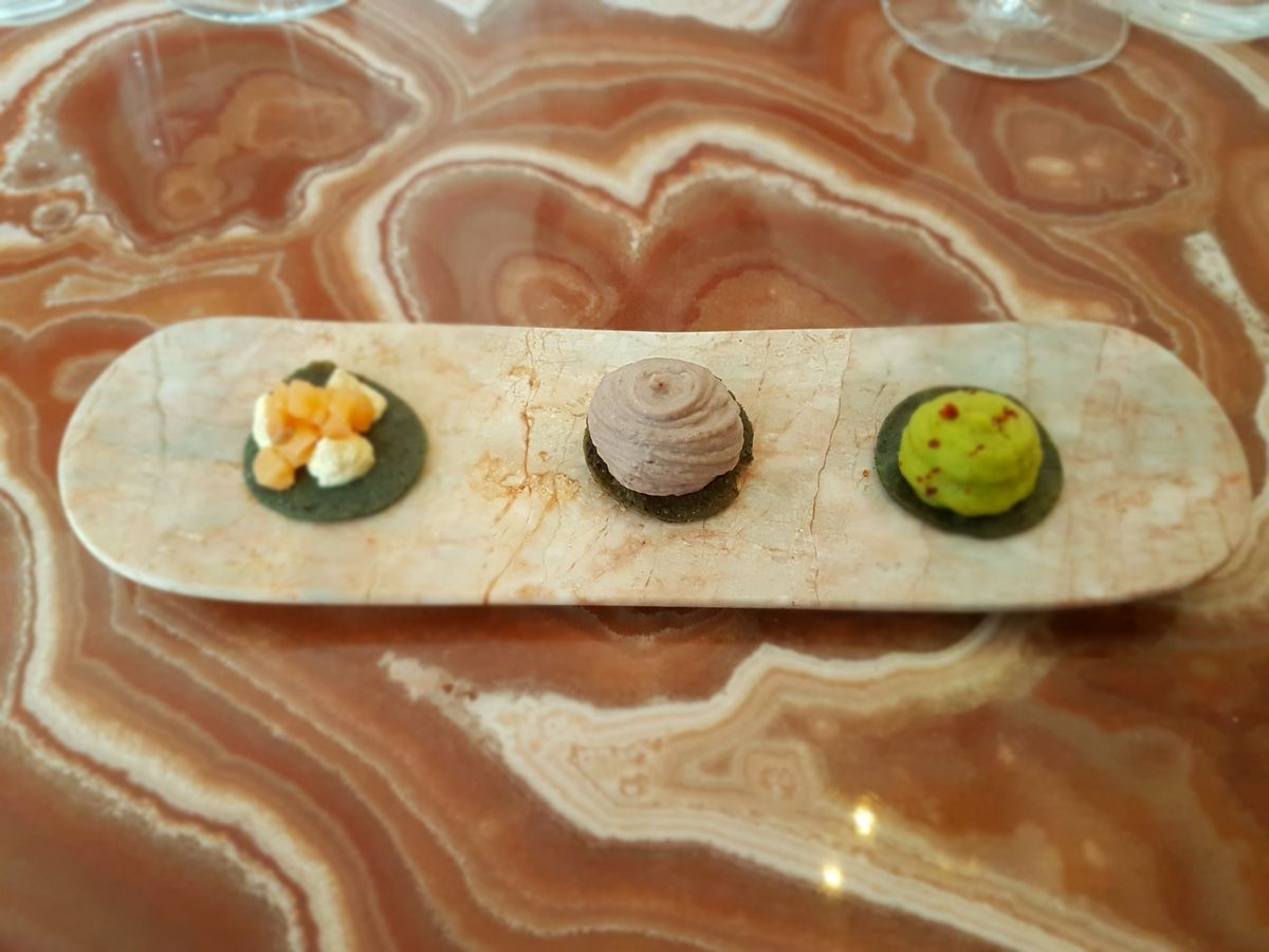 amuse bouche Oxte Restaurant Paris 17