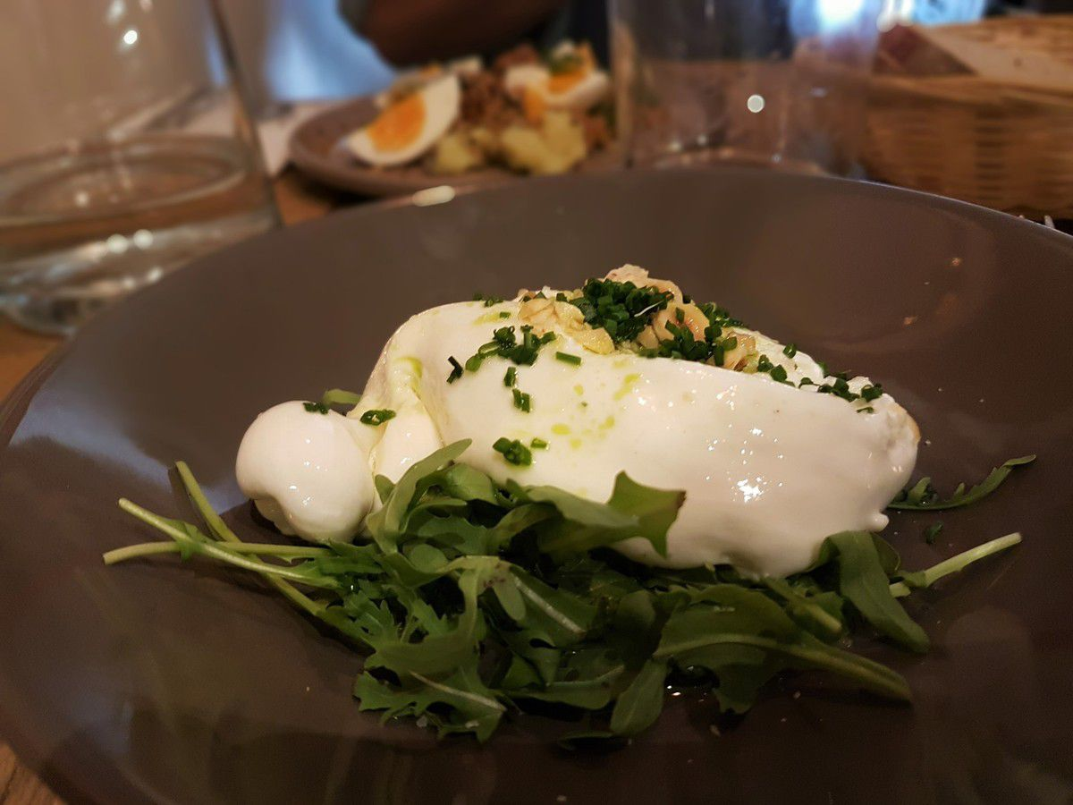 Burrata des Pouilles Itacoa Restaurant Paris 2