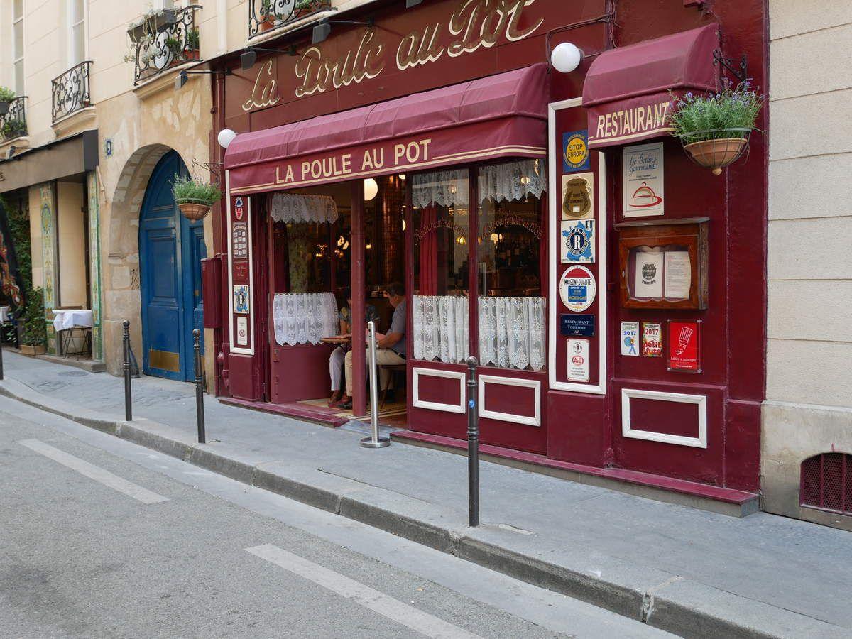 La poule au Pot Restaurant Paris 1 Piège