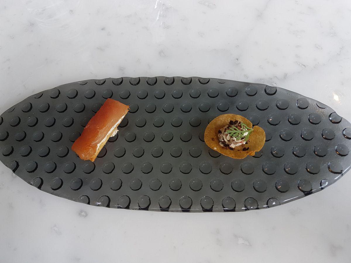 Mises en bouche Sourire Restaurant Paris 13