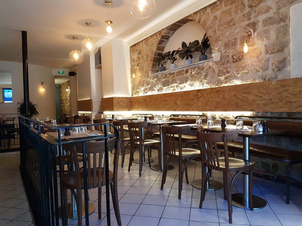 Salle le Flâneur Restaurant Paris 11