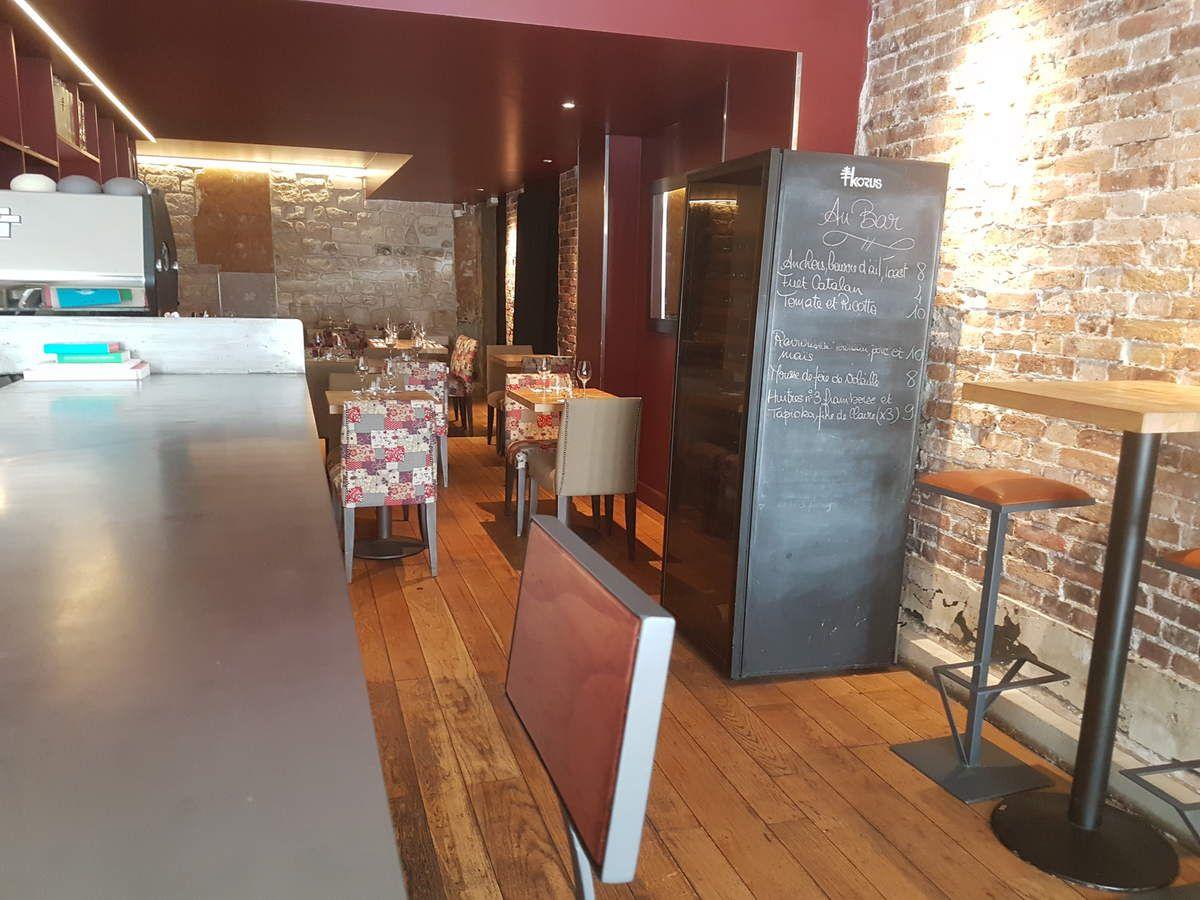 Salle de Korus Restaurant Paris 11