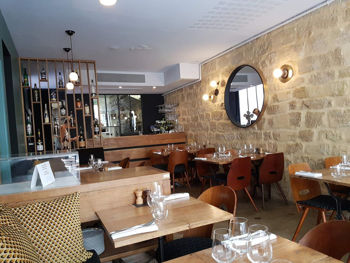La salle des Résidents Restaurant Paris 17