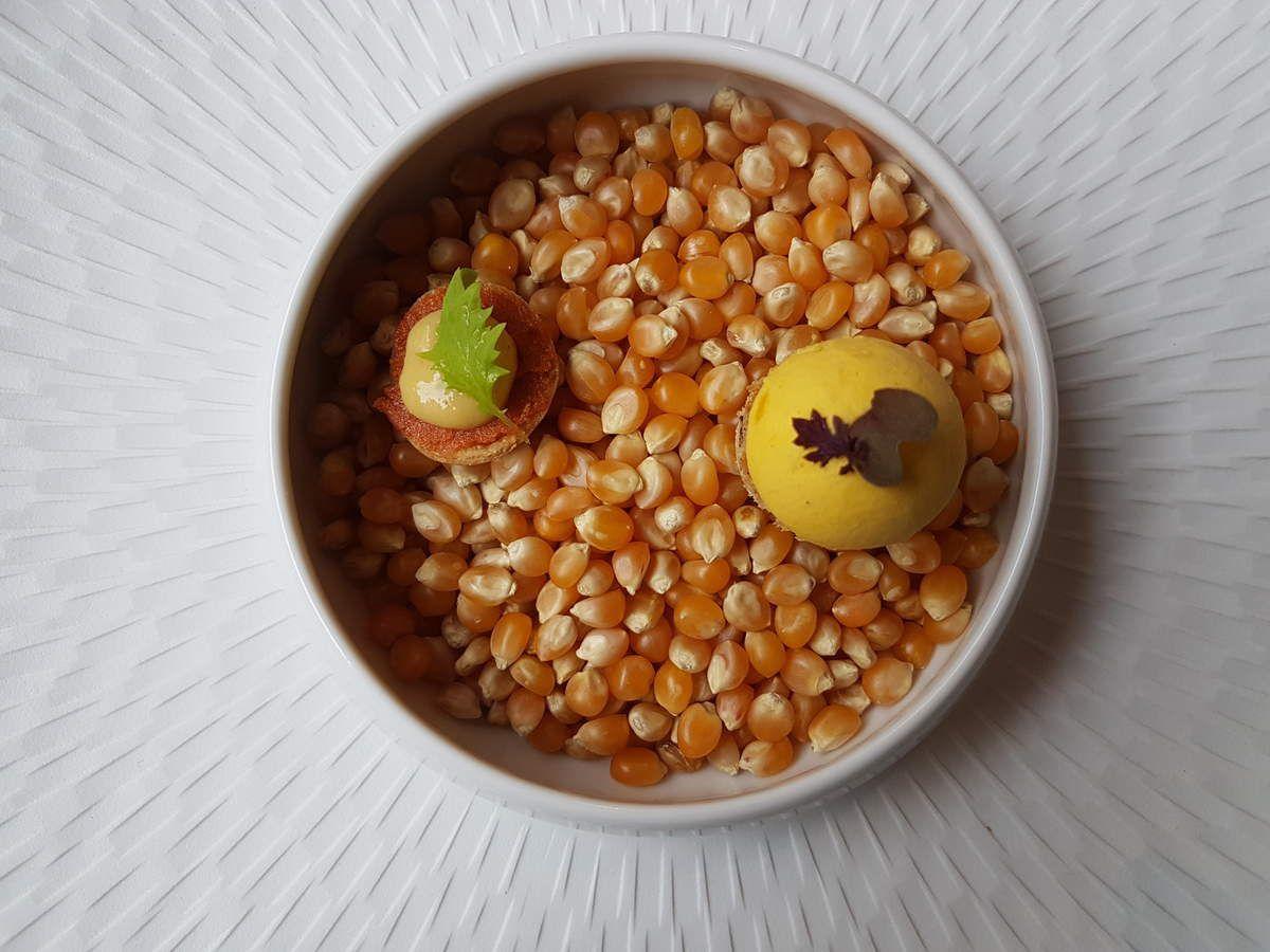 Amuse bouche du restaurant Variations Paris 11