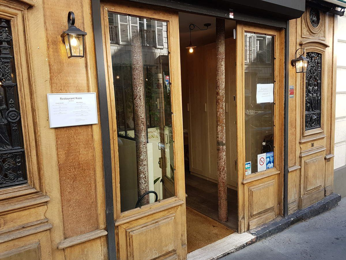 Kozo, restaurant rue Saint Georges Paris 9