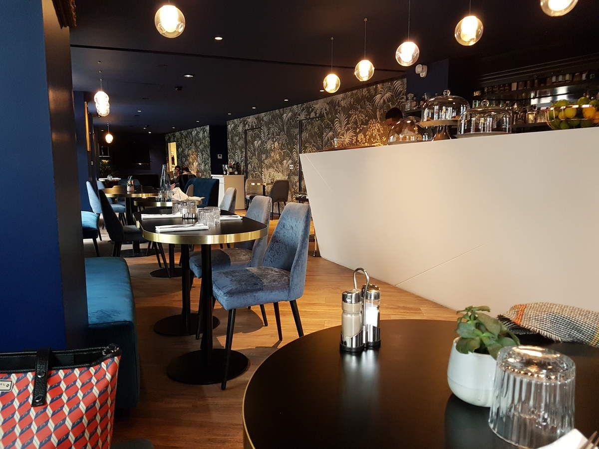 Lily Wood (Hôtel Beauchamps)  Restaurant Paris 8 rue du Colisée