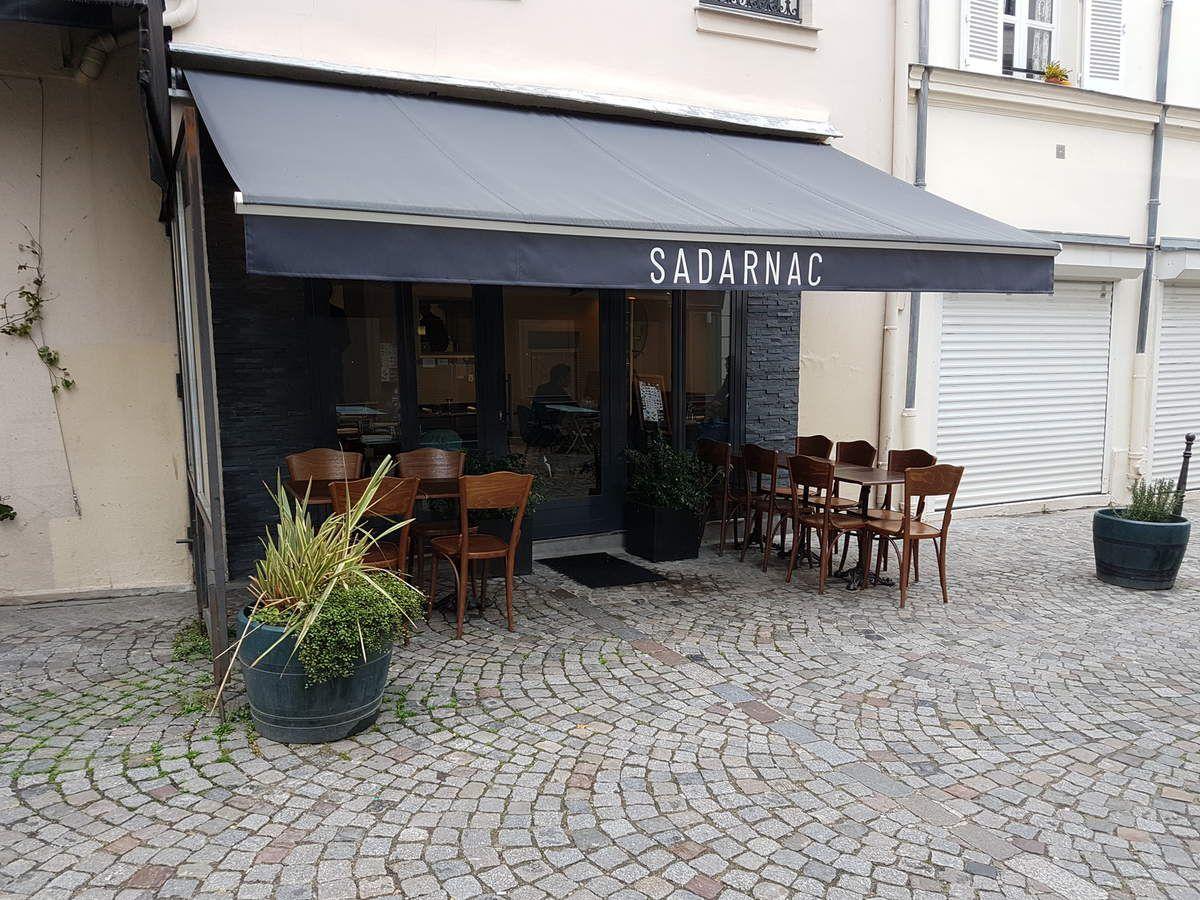 Sadarnac restaurant Paris 20 rue justin blaise