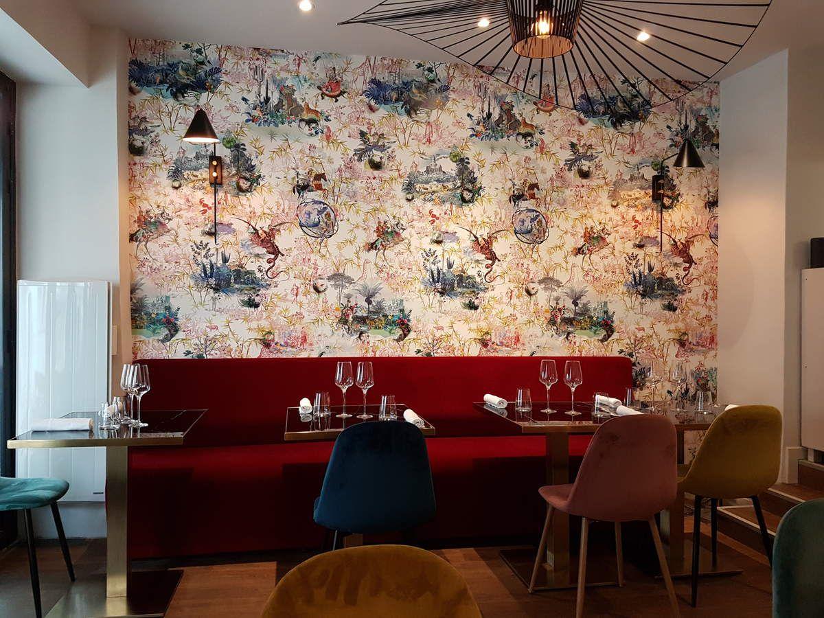 La salle Sadarnac Paris 20 restaurant