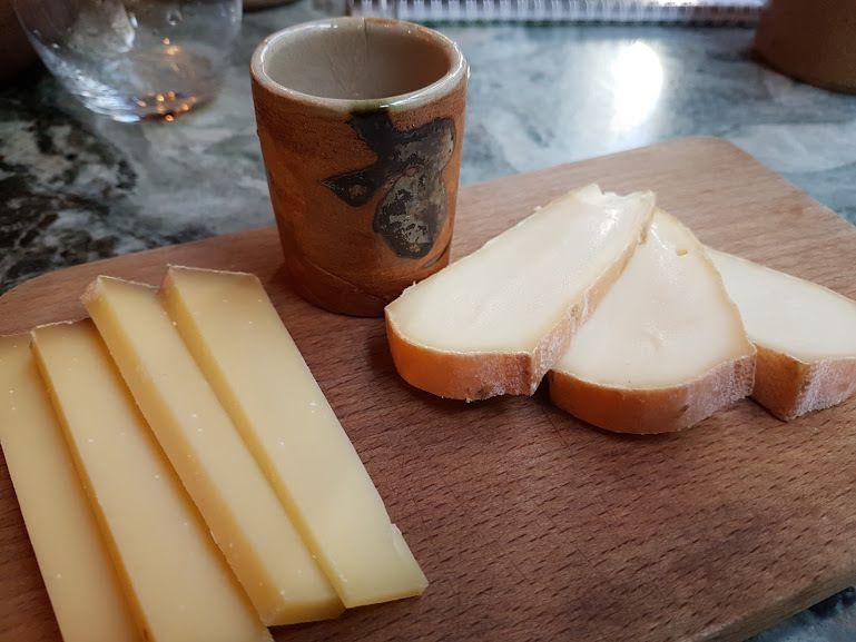 Comté et Saint Nectaire Papa Sapiens Restaurant Paris 2