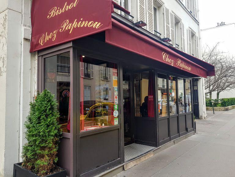 Chez Papinou restaurant Neuilly sur Seine boulevard du château
