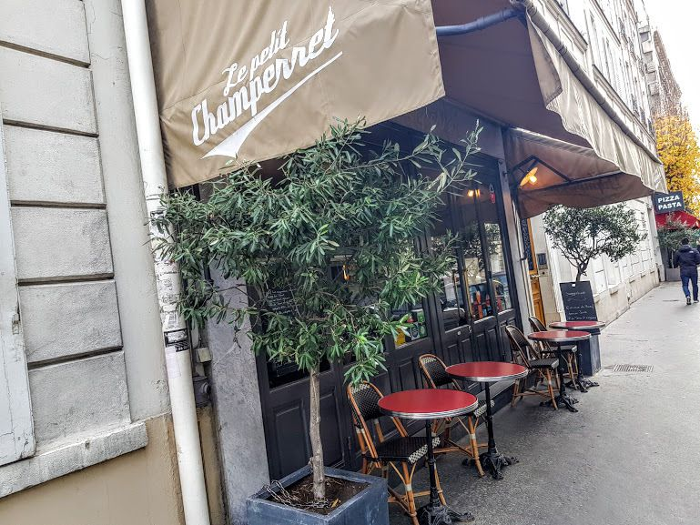 Le Petit Champerret Restaurant Paris 17 rue Vernier