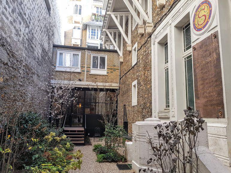 Côté jardin La Démocratie Restaurant Paris 7