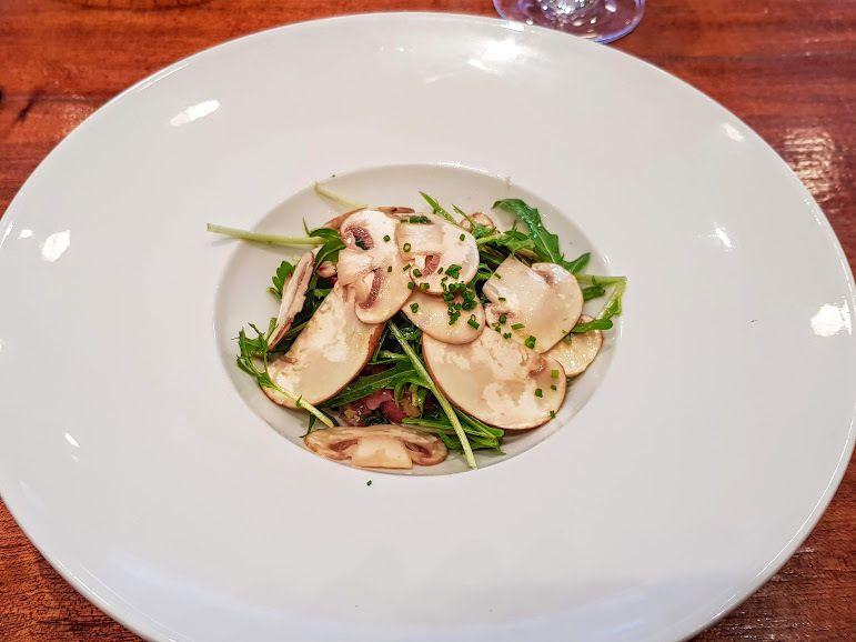 Tartare de veau et champignons Restaurant Le Café des Musées Paris 2
