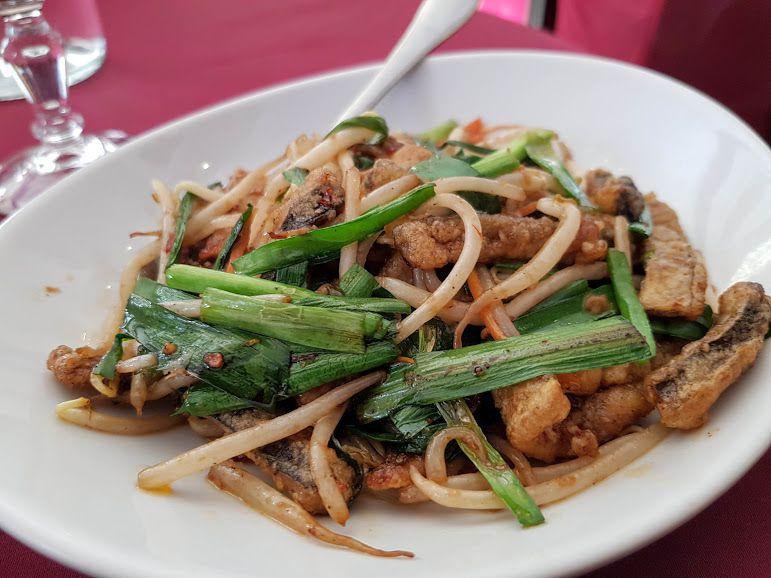Matelote d'anguille à la chinoise Hua tong Restaurant Paris 3