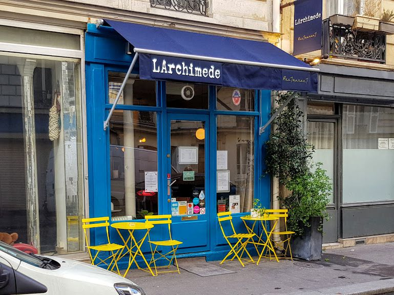 LArchimède Restaurant Paris 10 Rue Marie et Louise