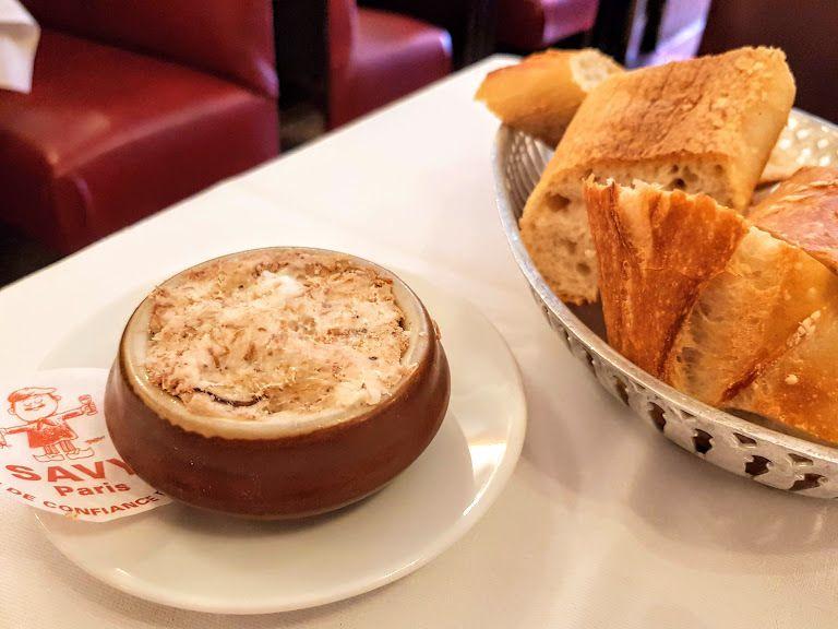 Les rillettes Savy Restaurant Paris 8