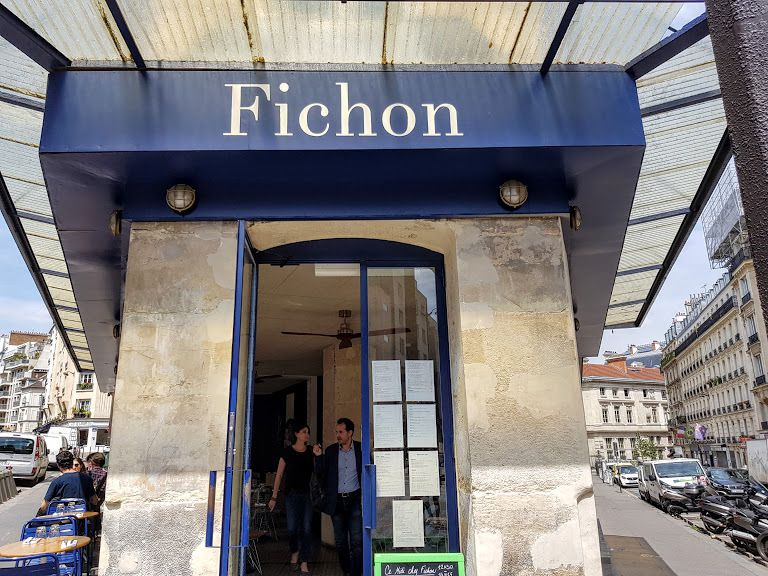 Fichon restaurant Paris 18