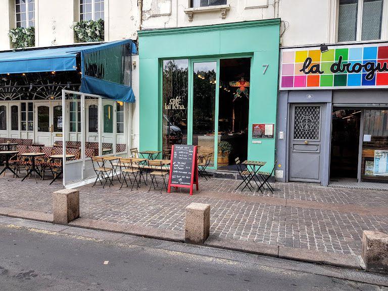 Café Laïtcha restaurant Paris 1 rue du point du jour