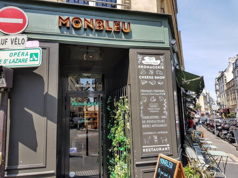 MonBleu restaurant Paris 9 rue du Faubourg Montmartre