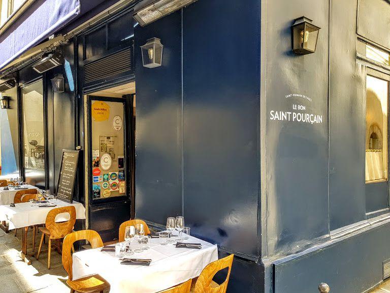 Le Bon saint Pourçain restaurant Paris 6 Rue Servandoni