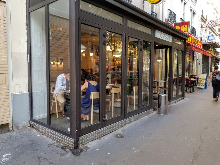 L'Hommage restaurant Paris 13 avenue de Choisy