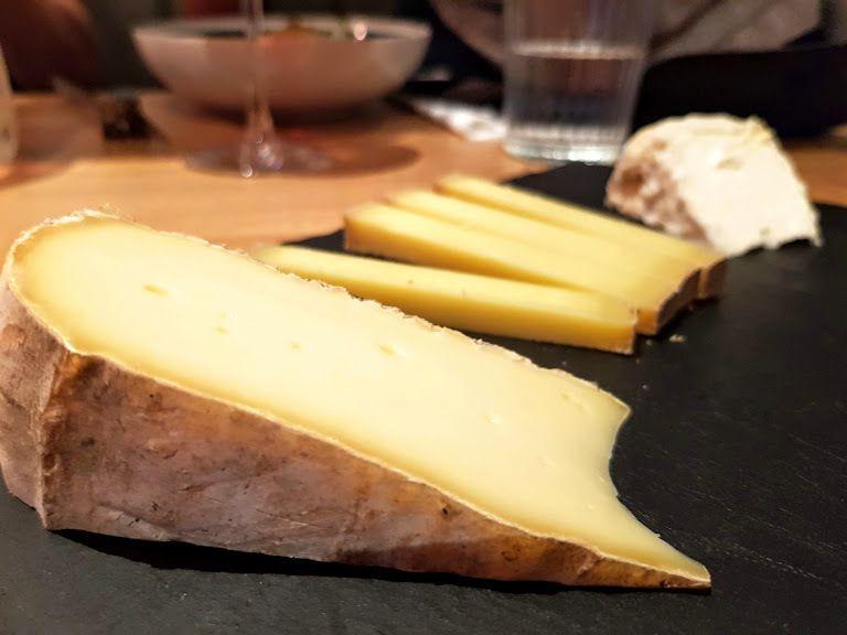 Assiette de fromages Cadence restaurant Paris 11
