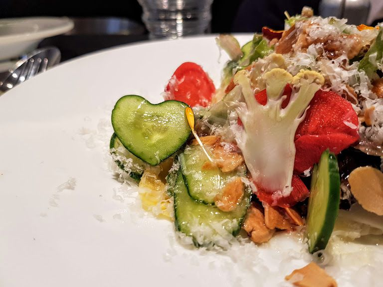 La Salade de Monsieur Yamashita Fleur de Pavé restaurant Pris 2