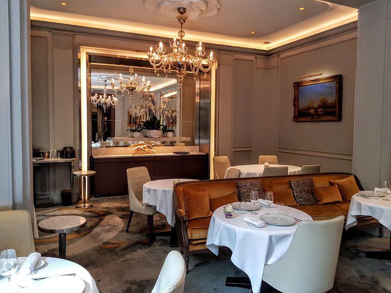 Monsieur Restaurant Hôtel Lancaster Paris 8 rue de Berri