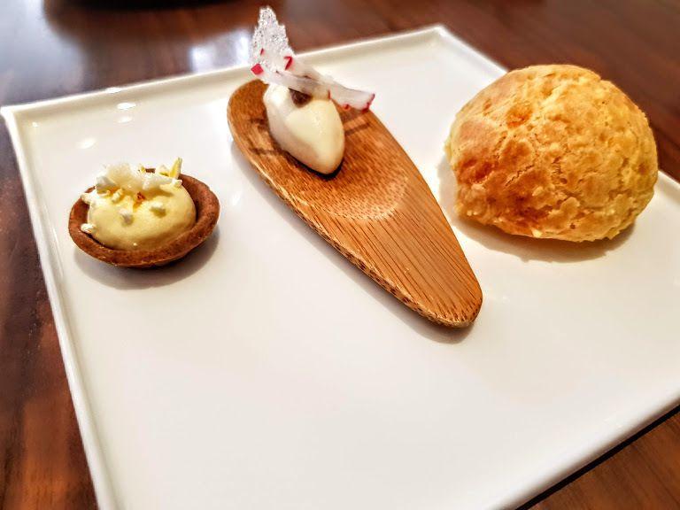 Amuse bouche Auguste restaurant Paris 7