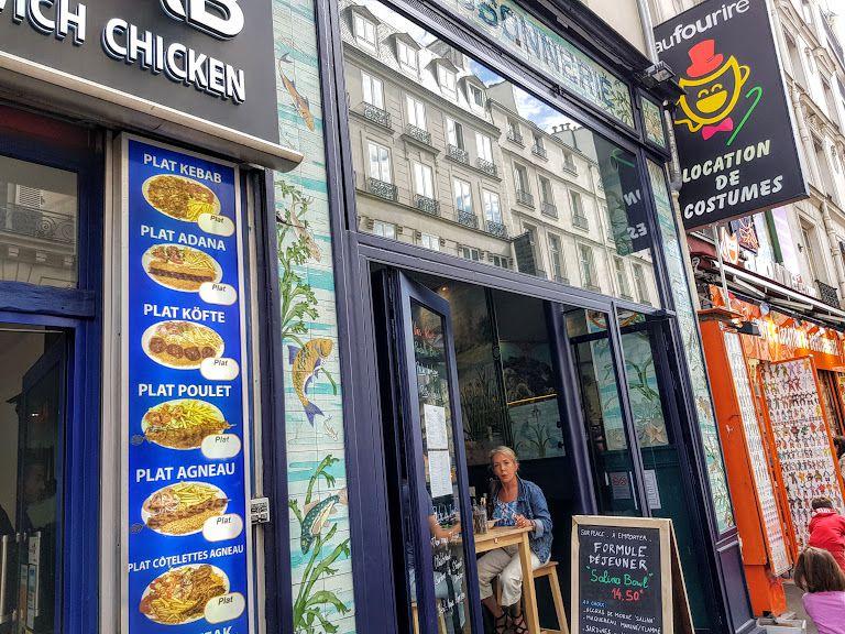 Salina restaurant Paris 9 rue du Faubourg Montmartre