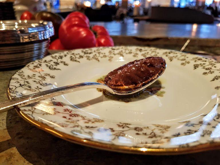 Mousse au chocolat Shabour restaurant Paris 2