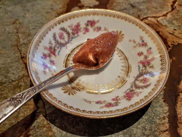 pré-dessert Shabour restaurant Paris 2