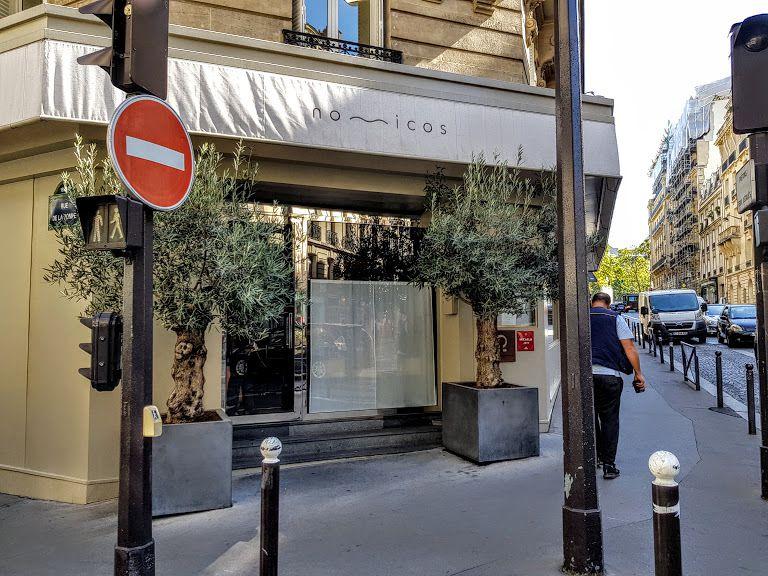 Nomicos restaurant Paris 16 avenue Bugeaud