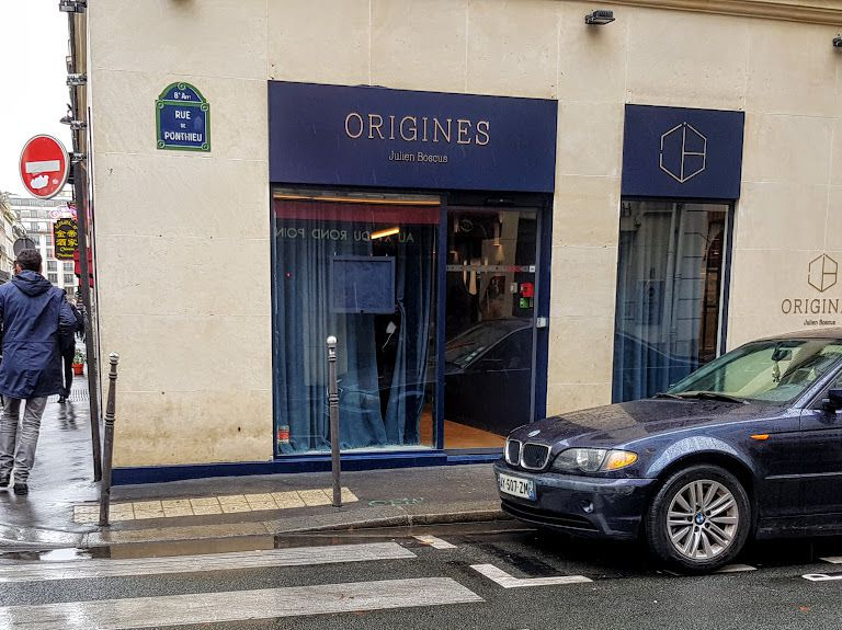 Origines restaurant Paris 8 rue de Ponthieu