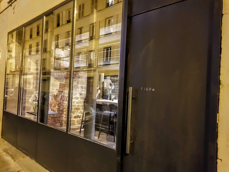 FIEF restaurant Paris 11 rue de la Folie Méricourt
