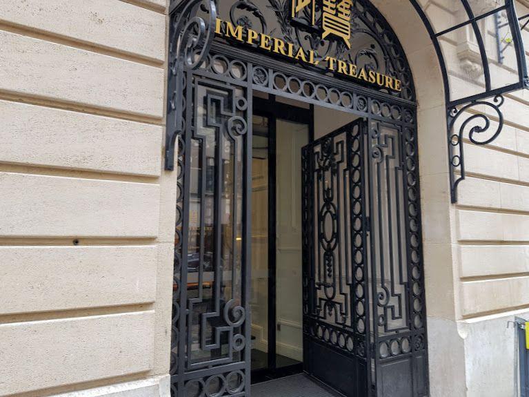 Imperial Treasure restaurant Paris 8 rue de Bassano