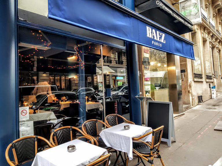 Baez restaurant Paris 16 Rue de Sontay