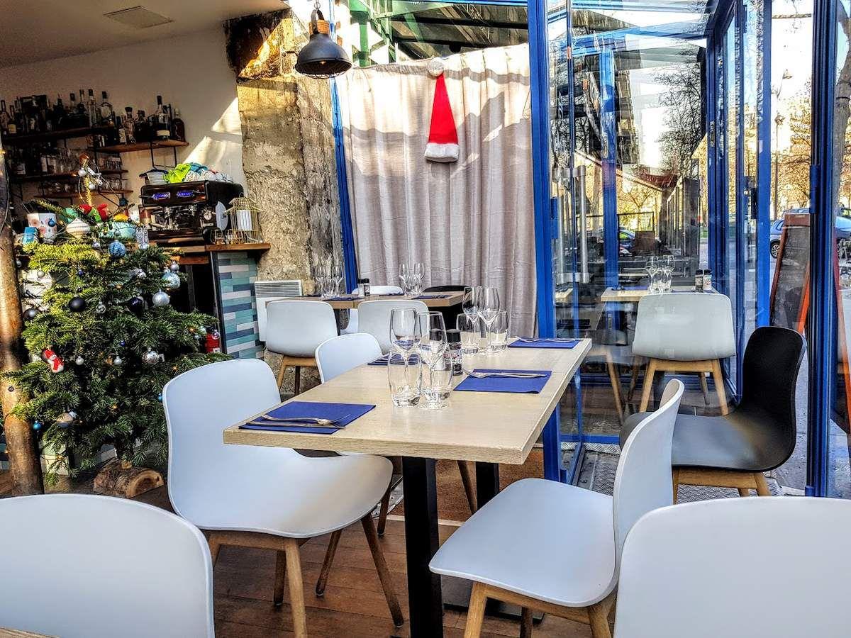 La Salle du Petit Nico restaurant Paris 17