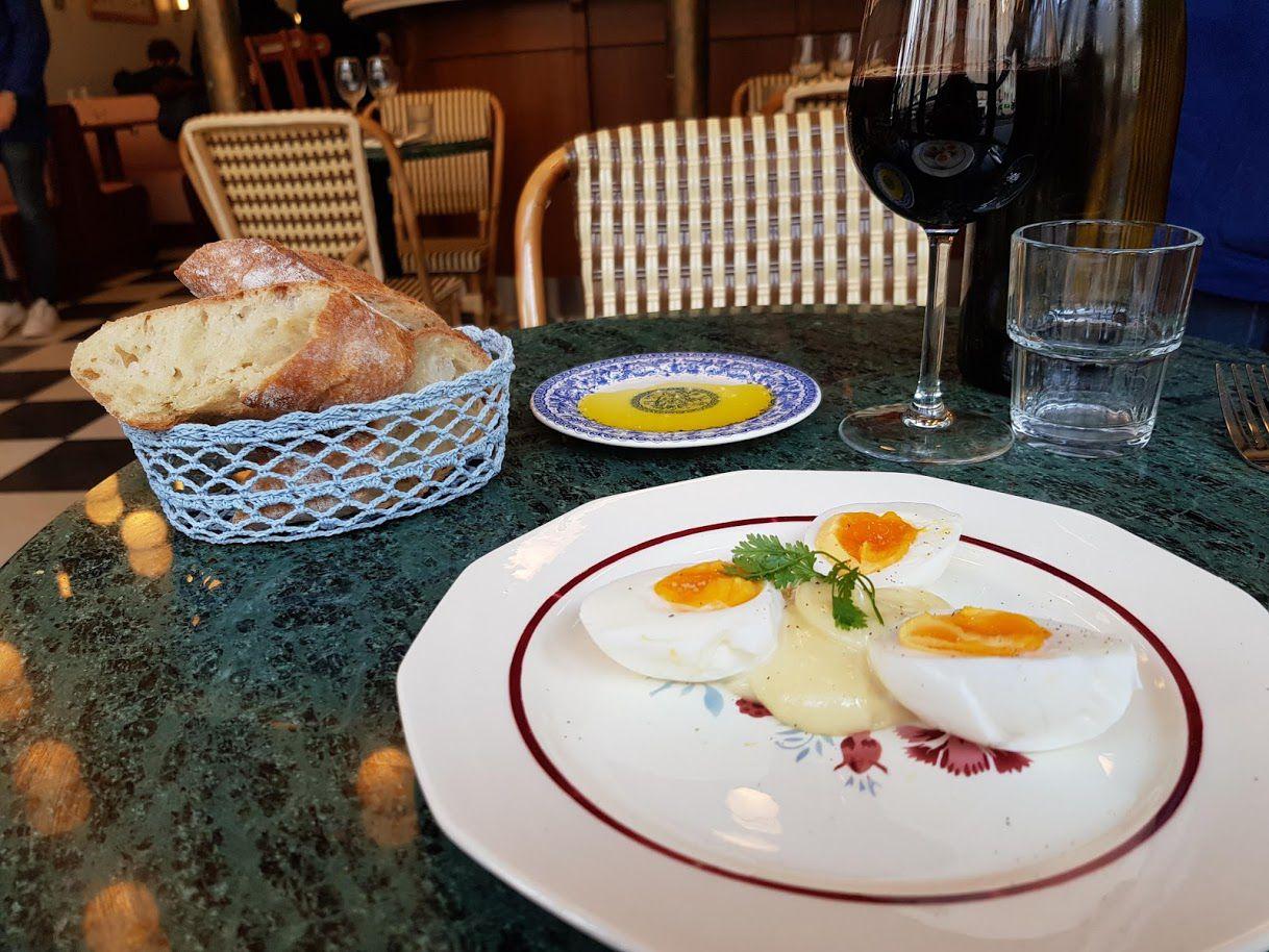 Oeuf Mayo Rosie Brasserie restaurant Paris 11