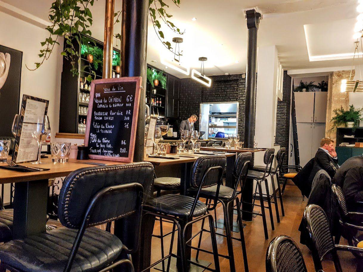 La salle de Jtépadi restaurant Paris 2