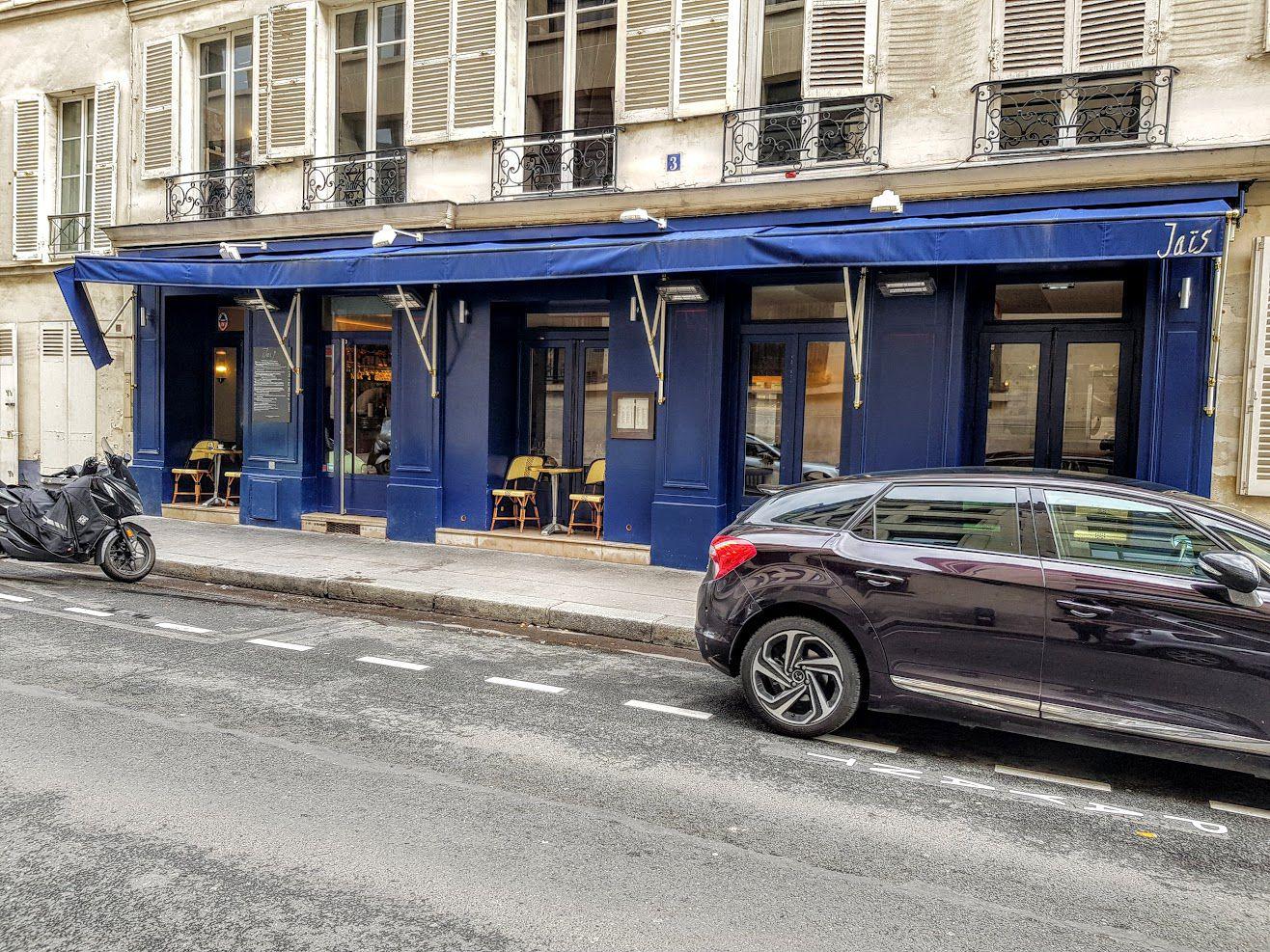 Jaïs restaurant Paris 7 rue Surcouf