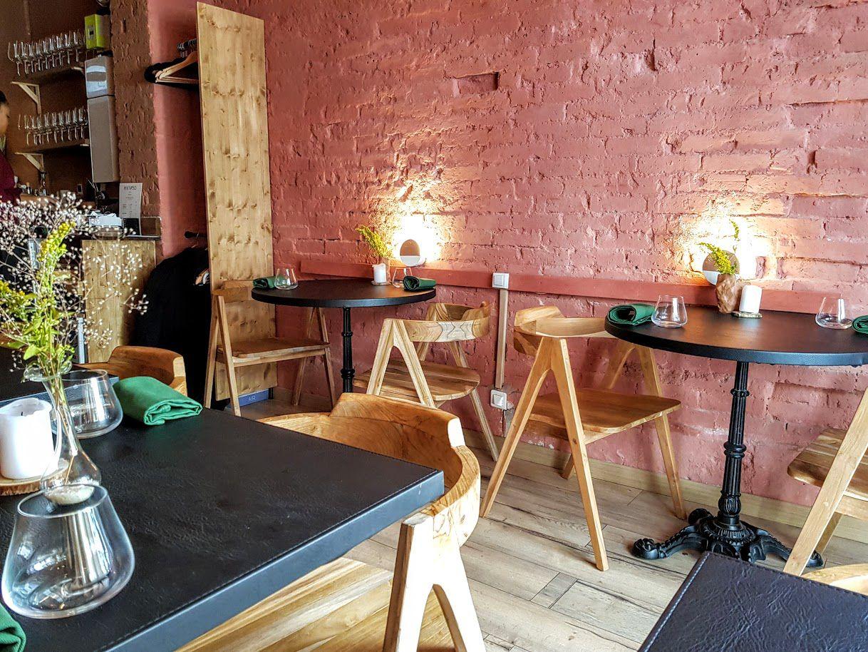 La salle de Mi Kwabo restaurant Paris 9