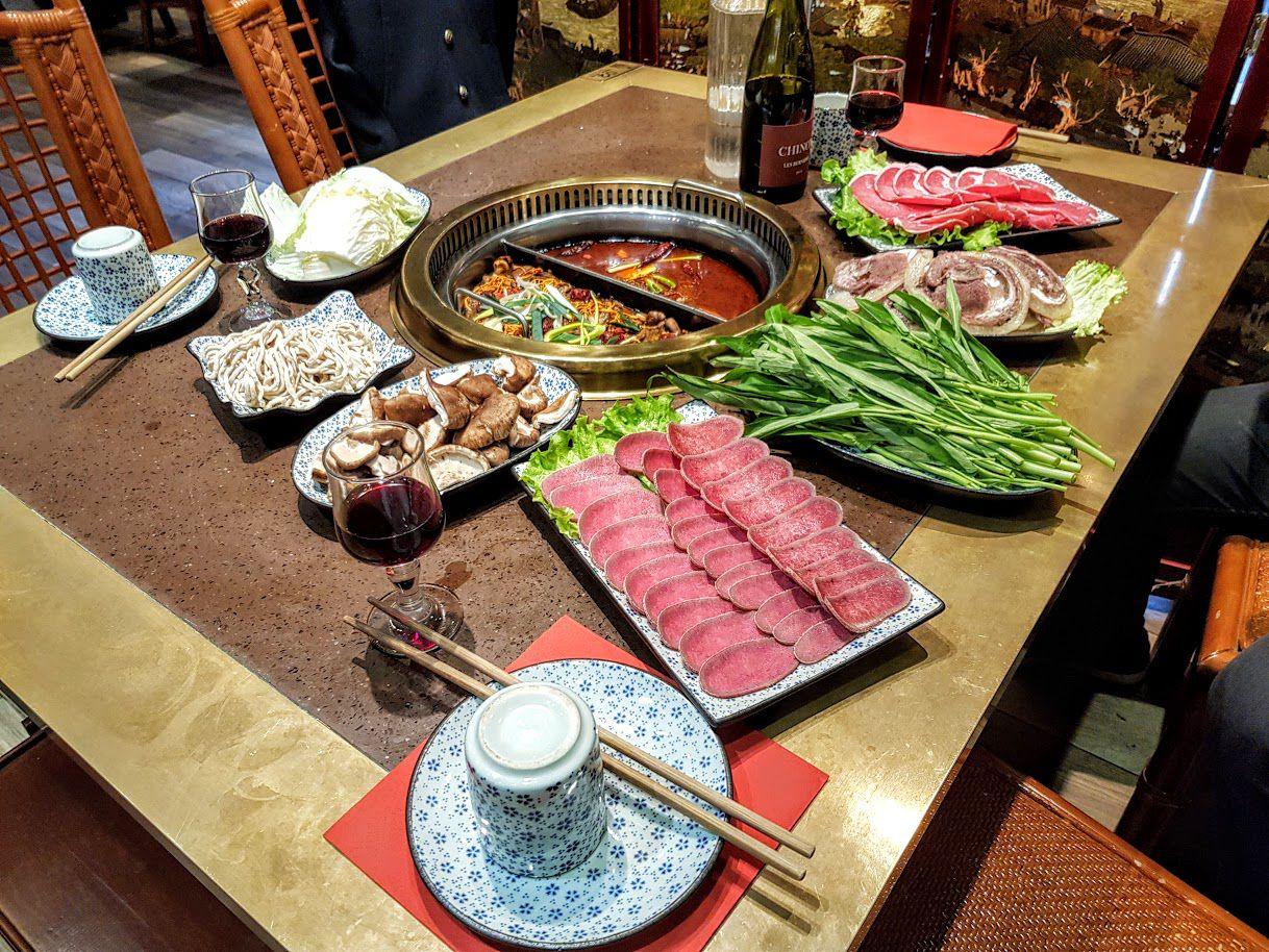 Fondue Chongqing restaurant Paris 12
